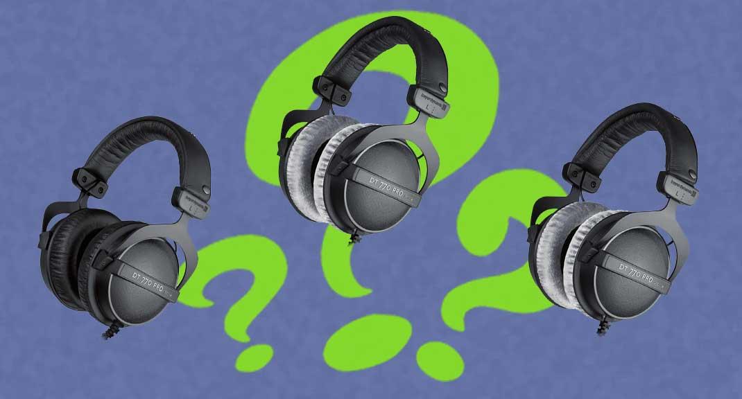 Melyik Beyerdynamic DT770 fejhallgatót válasszam?